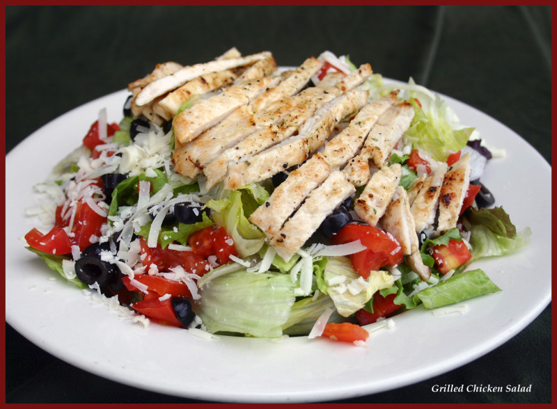 Mangino's Grilled Chicken Salad