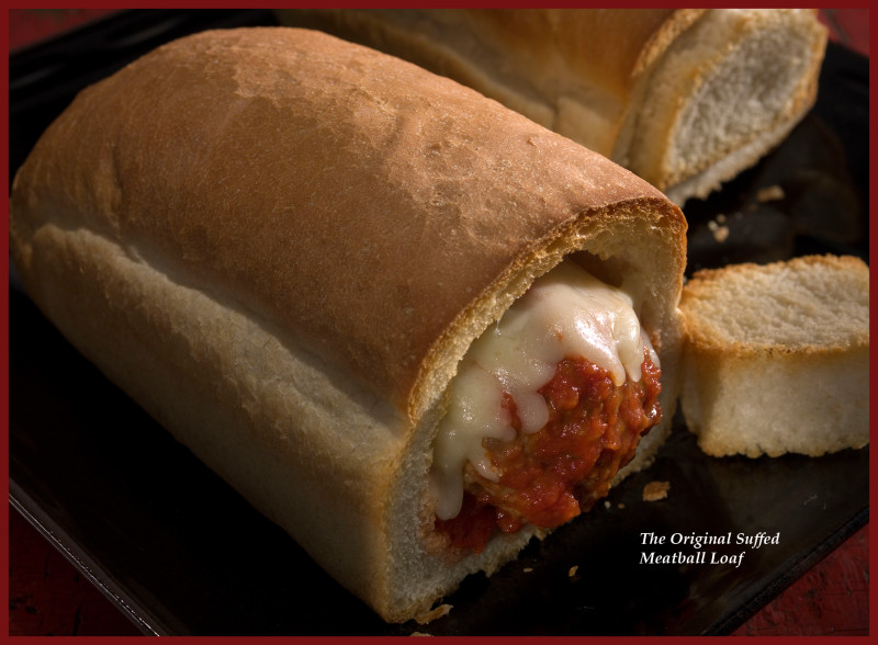 Mangino's Meatball Loaf