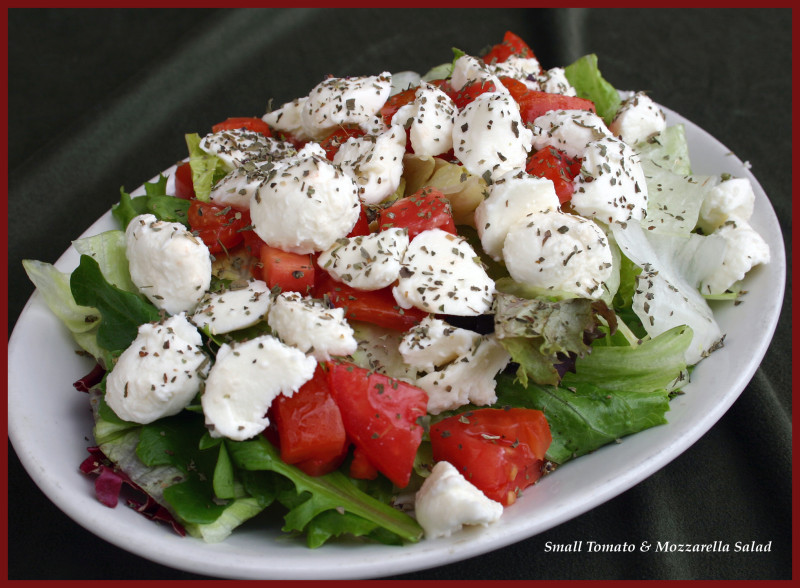 Mangino's Small Tomato & Mozzarella Salad