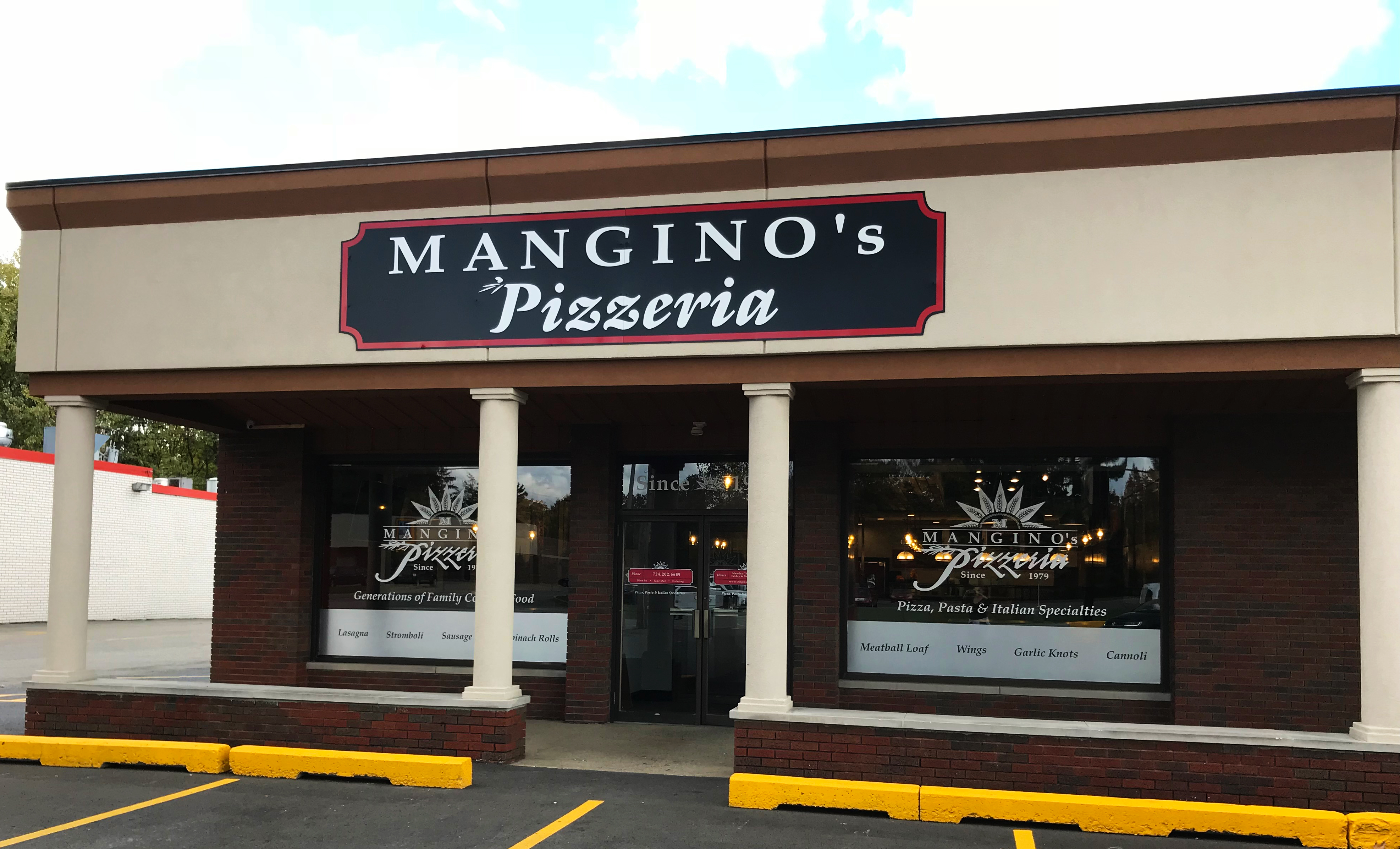 manginos pizzeria opens on 2710 wilmington rd new castle pa